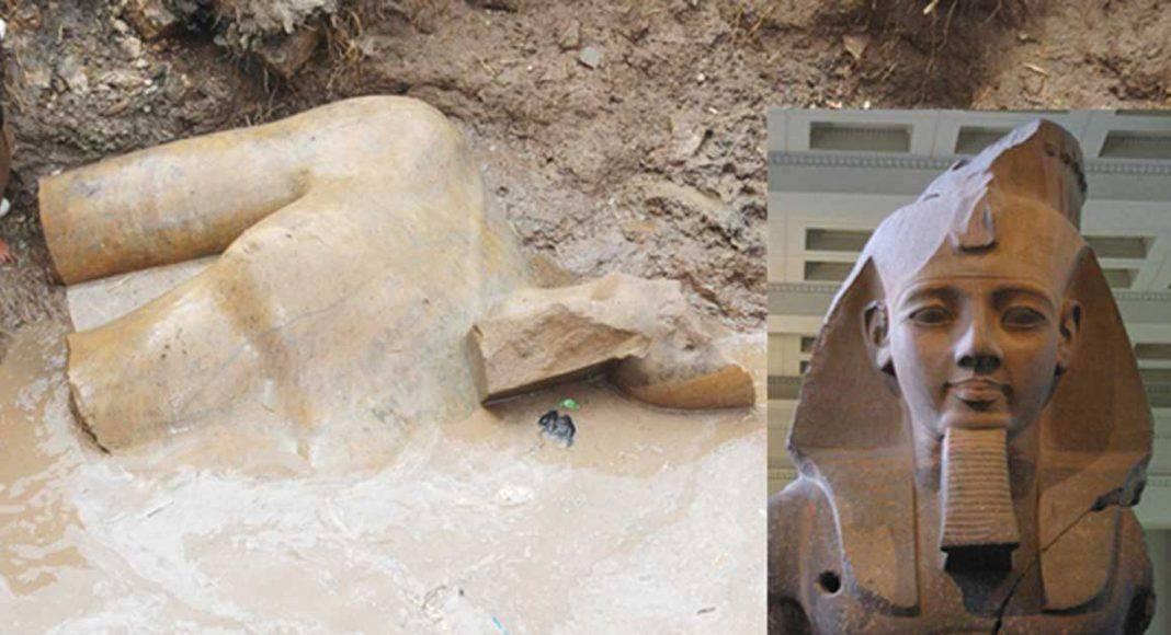 Статуя фараона Рамзеса II - Каменный лес Stone Forest