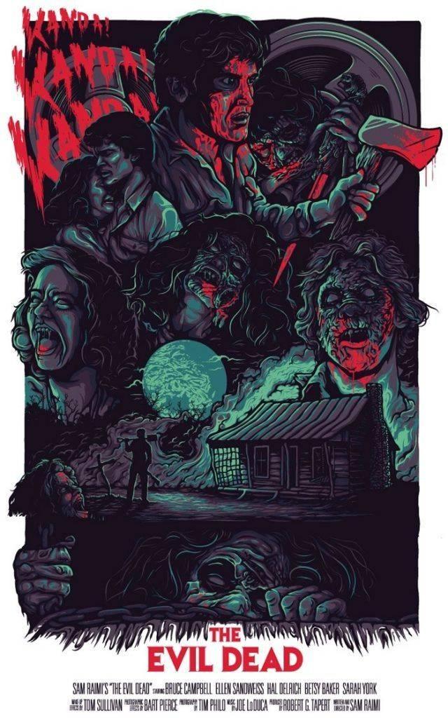 Постер Зловещие мертвецы - Каменный лес Stone Forest