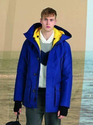 Куртка Woolrich 3-IN-1 Spring Arctic Parka - Каменный лес Stone Forest
