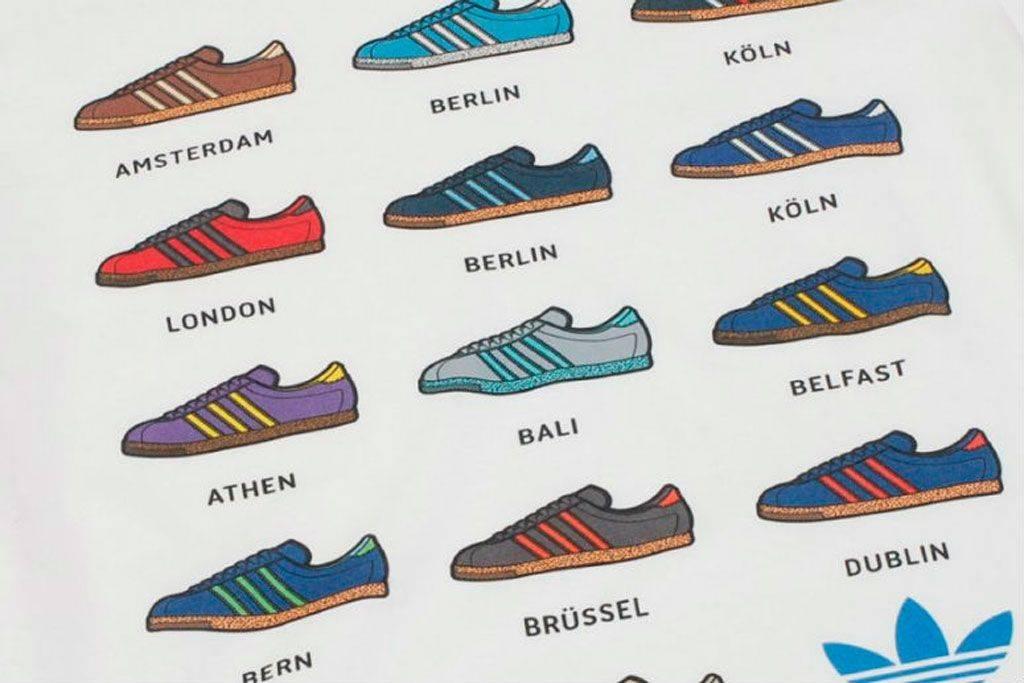 кроссовки adidas City Series
