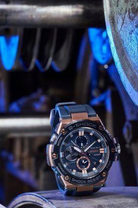 Часы Casio G-SHOCK GST-B100G-2A, GST-B100XB-2A и GST-B100D-1A - Каменный лес Stone Forest