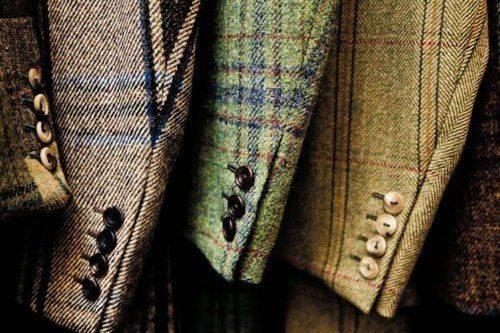 Твидовый пиджак фото - Каменный лес Stone Forest