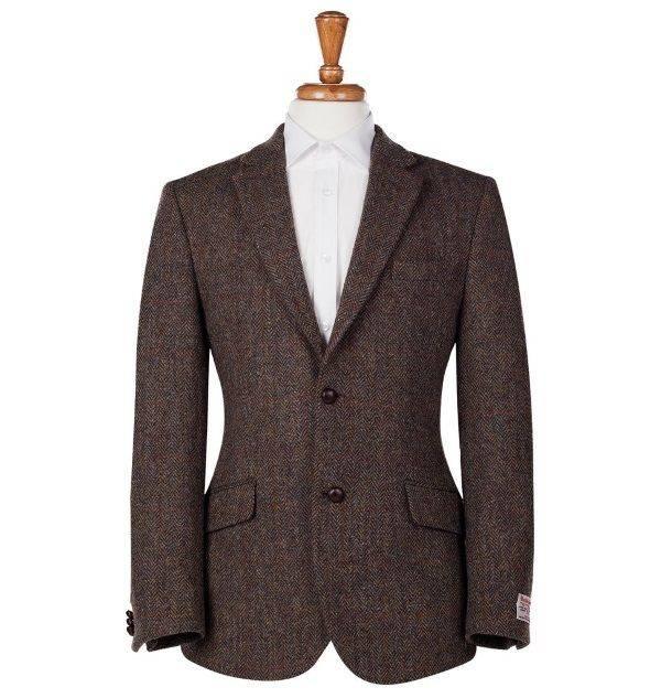 Твидовый пиджак пример - Каменный лес Stone Forest