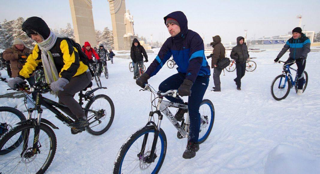 Зимний велопробег 2019 в Москве - Каменный лес Stone Forest