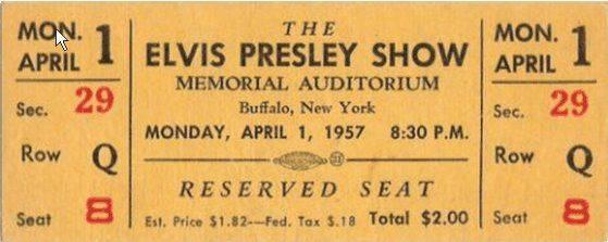 Элвис Пресли в Баффало - Каменный лес Stone Forest