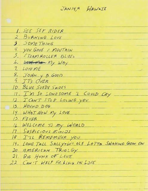 Трек-лист Элвиса Пресли - Каменный лес Stone Forest
