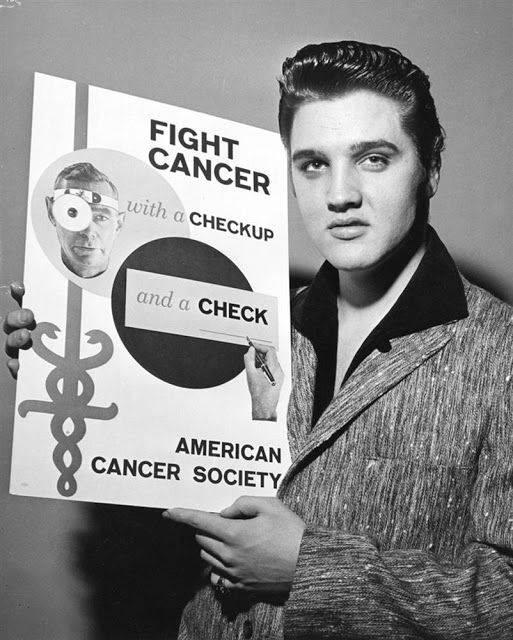 Элвис Пресли и Американское онкологическое общество - Каменный лес Stone Forest