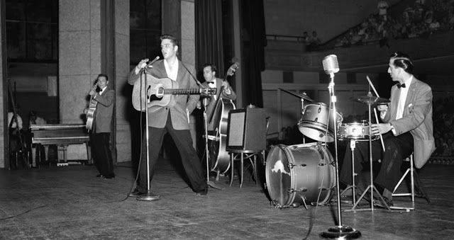 Концерт Элвиса в Мемфисе, 1956 год - Каменный лес Stone Forest