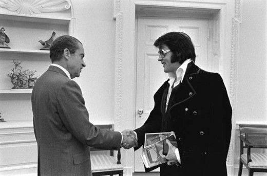 Элвис С президентом Никсоном, 1970 год - Каменный лес Stone Forest