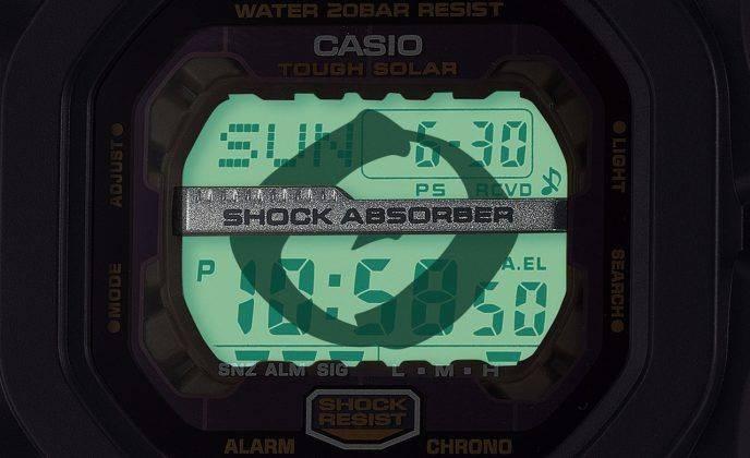 Релиз Casio G-SHOCK x Seven Lucky Gods - Каменный лес Stone Forest