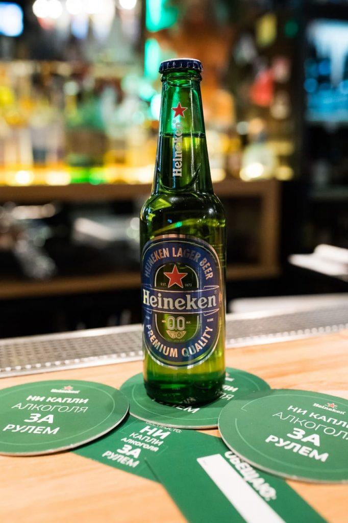 Бутылка пива Heineken - Каменный лес Stone Forest
