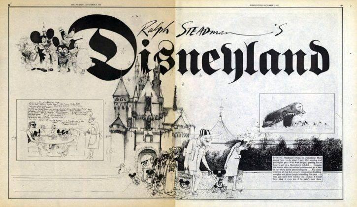 Ральф Стедман Disneyland - Каменный лес Stone Forest