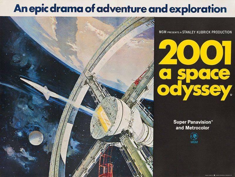 Космическая Одиссея 2001 Стэнли Кубрик - Каменный лес Stone Forest