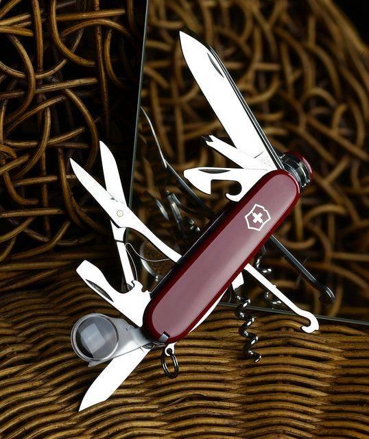 Нож Victorinox Explorer - Каменный лес Stone Forest