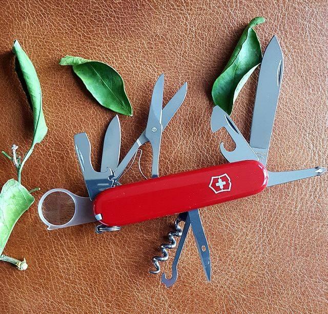 Швейцарский нож Victorinox Explorer - Каменный лес Stone Forest
