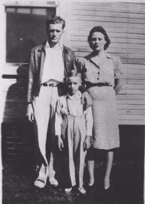 Элвис Пресли с родителями - Каменный лес Stone Forest