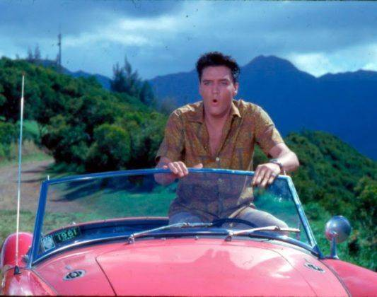 Элвис Пресли и 1960 MG MGA - Каменный лес Stone Forest