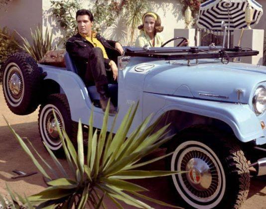 Элвис Пресли и Jeep - Каменный лес Stone Forest