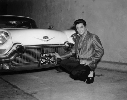 Элвис Пресли и 1956 Cadillac Eldorado - Каменный лес Stone Forest