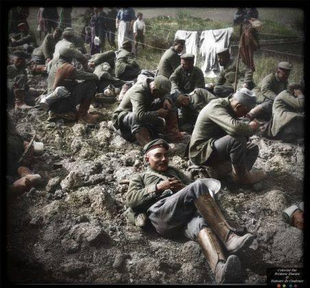 Немецкая армия на Первой мировой войне - Каменный лес Stone Forest