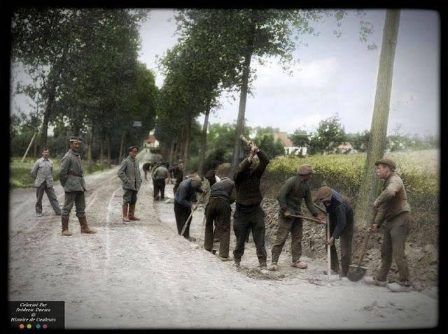 Армия Германии на Первой мировой войне - Каменный лес Stone Forest