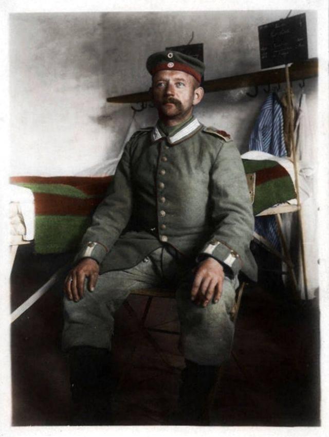 Фото немцев на Первой мировой войне - Каменный лес Stone Forest