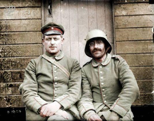 Германия на Первой мировой войне - Каменный лес Stone Forest