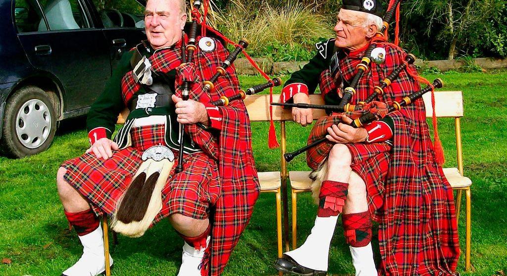 Шотландский тартан
