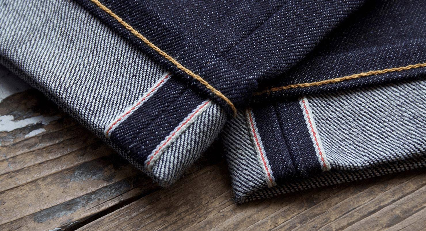 Селвидж деним - что такое джинсы с селвиджем, виды, производство | Selvedge denim  jeans - фото и видео