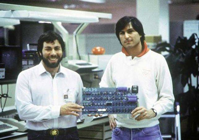 Стив Возняк и Стив Джобс - Каменный лес Stone Forest
