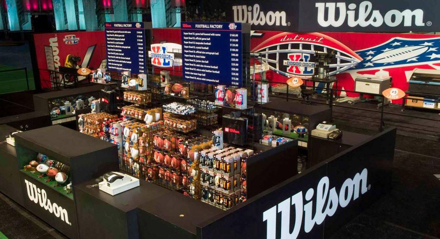6138e06587f Wilson - бренд спортивного инвентаря   история бренда Вилсон - фото ...