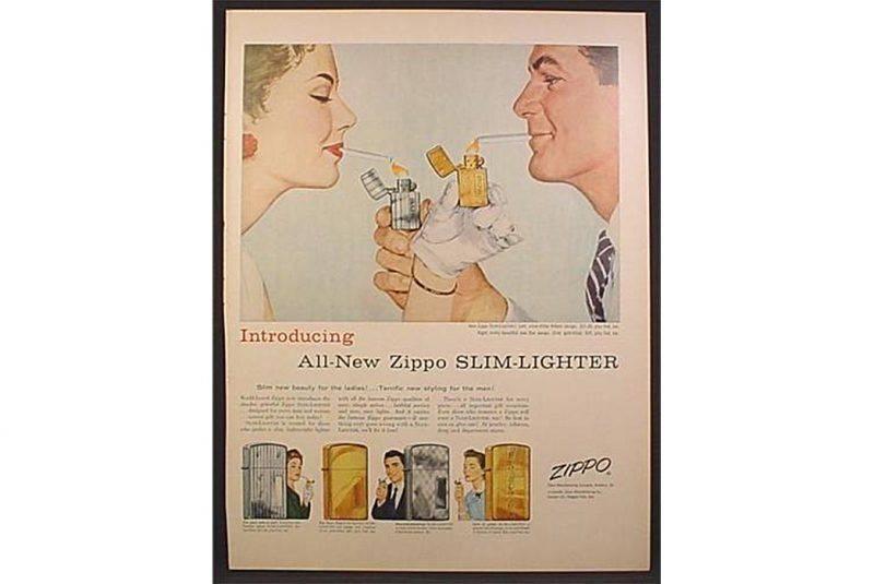 Реклама Zippo - Каменный лес Stone Forest