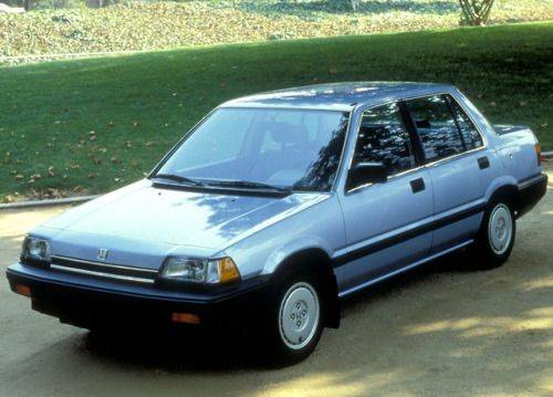 Honda Civic 1985 - Каменный лес Stone Forest