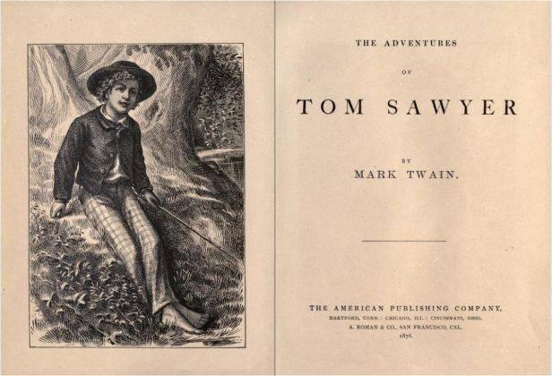 Том Сойер Марк Твен - Каменный лес Stone Forest