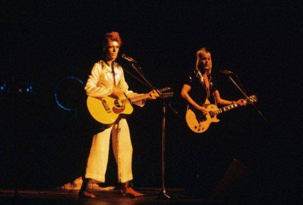 Дэвид Боуи на концерте - Каменный лес Stone Forest