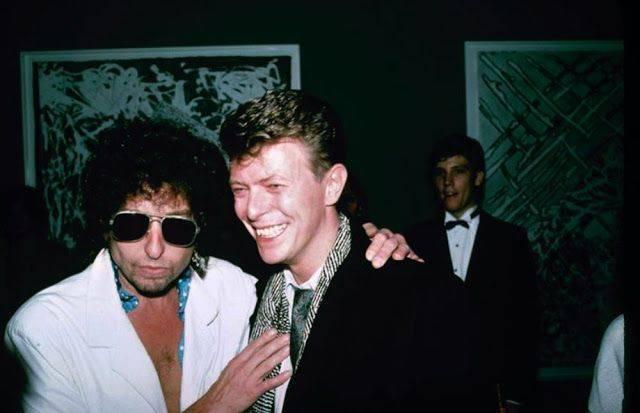 Дэвид Боуи с Бобом Диланом - Каменный лес Stone Forest