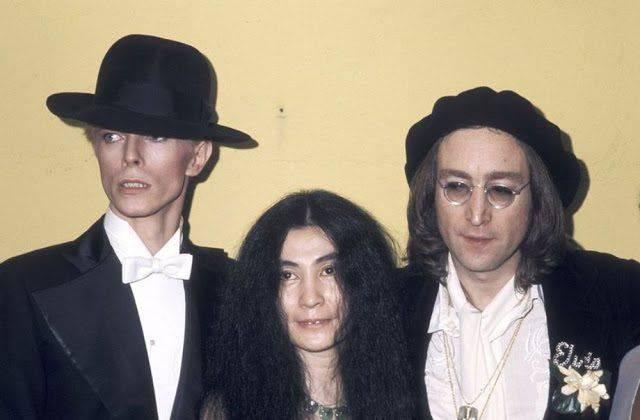 Дэвид Боуи с Йоко Оно и Джоном Ленноном - Каменный лес Stone Forest