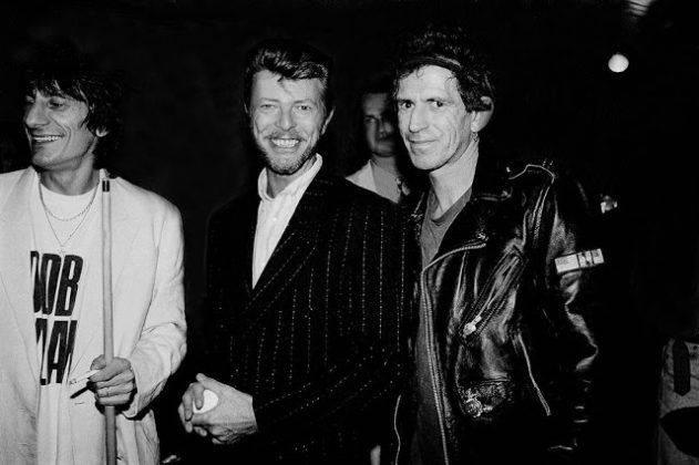 Дэвид Боуи с Роном Вудом и Китом Ричардсоном - Каменный лес Stone Forest
