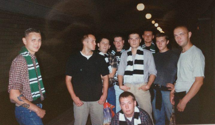 Фанаты Торпедо Москва на фото - Каменный лес Stone Forest