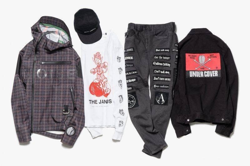 Бренд одежды из Японии - Stone Forest