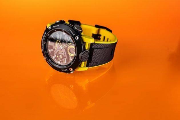 Часы Casio G-SHOCK GA-2000 - Каменный лес Stone Forest