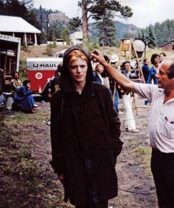 Кинофильм Человек, который упал на Землю 1976 г. - Каменный лес Stone Forest