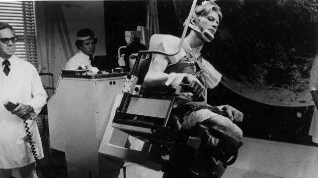 Съемки Человек, который упал на Землю 1976 г. - Каменный лес Stone Forest