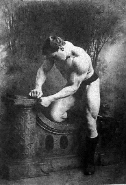 Спортсмен Георг Гаккеншмидт - Каменный лес Stone Forest