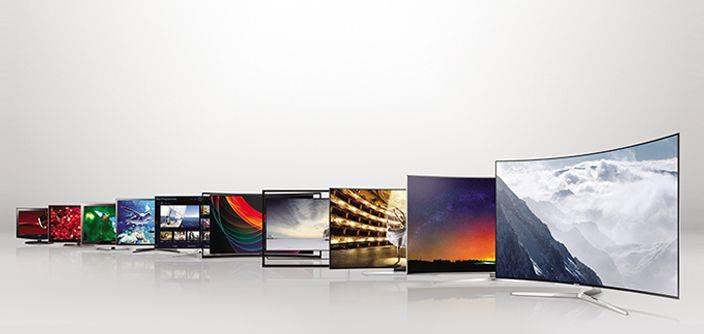 Телевизоры Samsung - Каменный лес Stone Forest