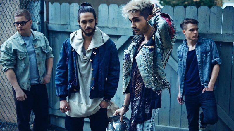 Музыканты Tokio Hotel - Каменный лес Stone Forest