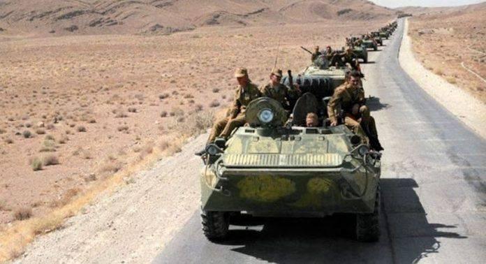 Вывод войск из Афгана - Каменный лес Stone Forest
