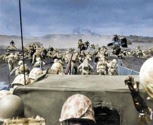 Тихоокеанский фронт США во время второй мировой войны - Каменный лес Stone Forest