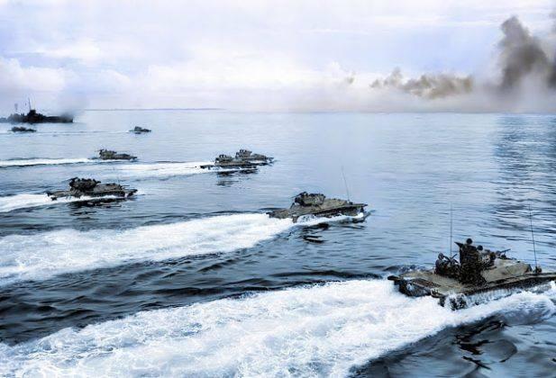 Тихоокеанский фронт союзников во время второй мировой войны - Каменный лес Stone Forest