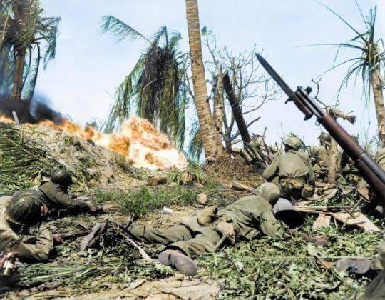 Тихоокеанский фронт второй мировой - Каменный лес Stone Forest